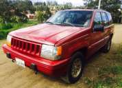 Vendo jeep grand cherokee lÍmited aÑo 93,contactarse!