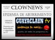 Guayaclaun tv (programa clown semanal) suscríbete gratis para ver todos los programas