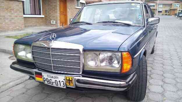 Lindo Mercedes benz Aleman clasico manual año /80