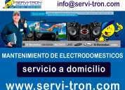 servicio tecnico y reparacion de lavadoras refrigeradoras en quito