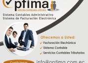Asesoria contable, tributaria y facturación electronica en quito guayaquil ecuador