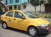 Necesito conductor profesional para taxi