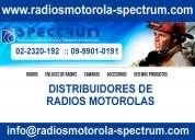 Radios motorolas quito ecuador importadores y distribuidores