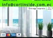 Venta y fabricación de cortinas para sala en quito ecuador