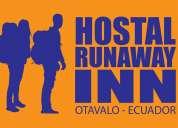 Hostal runaway inn otavalo ecuador