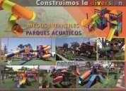 Juegos infantiles - maquinas biosaludables - pallets noheri s.a.