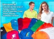 Fabricante de camisetas gorras para publicidad y uniforme de empresas
