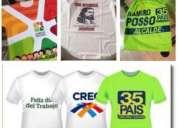 Somos fabricantes de  camisetas publicitarias incluye estampado o sublimado