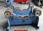Rodillos transportadores pandjiris 8,000 lbs usado