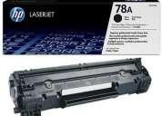 78a cartucho de toner hp ce278a original color negro