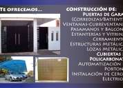 construcciones metalicas,, trabajos de cerrajeria