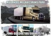 Camiones para mudanzas y fletes nivel nacional