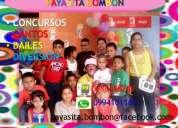 Eventos sociales - payasita bombÒn - contratos 0988488249