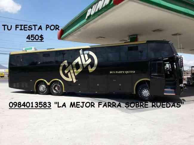 CHIVA QUITEÑA VIP - BUS PARTY - DISCO BUS