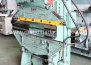 Prensa  4' x 12 ton usada