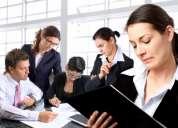Personal para atencion al cliente y supervisores de personal