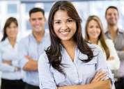 Personal para trabajar en atencion al cliente y supervision