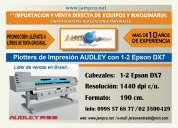 Se vende plotter de impresión audley