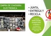 Compra de chatarra electronica para reciclaje