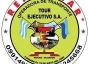 Tourejecutivo s.a guayas-el oro