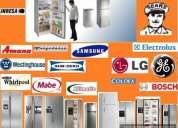 Reparaciona a domicilio  de lavadoras, secadoras, calefones y mas tlf 3184084 / 0991902384 /