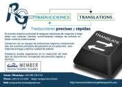 Traducciones certificadas inglÉs <=> espaÑol