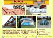 Techos residenciales e industriales