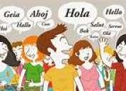 Clases de idiomas: inglés, francés, japonés, italiano. clases de nivelación