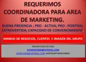 Urgente se necesita asistente de marketing