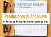 Resoluciones de año nuevo #1 – revision seguro de vida