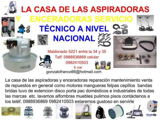 mundo de las aspiradoras y enceradoras servicio tecnico  a nivel nacional