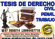 Asesoría para tesis derecho, proyectos, proyectos, tesinas, tesis de derecho tributario 0994407718