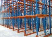 Perchas, racks desmontables y regulables (almacenaje industrial)