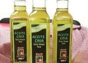 Aceite de chia kimchi