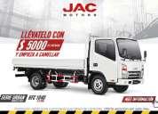 Venta camion jac 3.5 ton motor isuzu