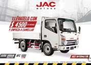 Camion jac 2.5 ton motors isuzu