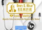 Agente internacional de seguros de salud en dolares