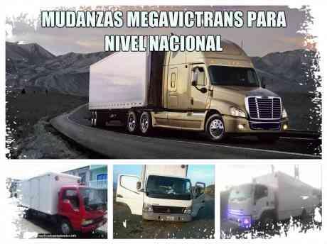 """FLETES Y MUDANZAS """"TRANSVICTOR"""" CON EXPERIENCIA A SU SERVICIO."""