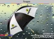 Paraguas con publicidad quito