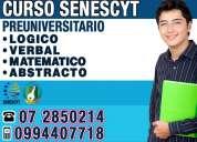 0994407718 el mejor curso preuniversitario para aprobar el examen enes de la senescyt