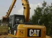 Alquilo excavadora cat 312 nueva