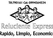 Reluciente express -  contactanos