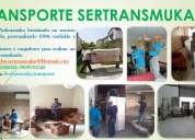Sertransmuka furgones para fletes, mudanzas y desmontajes