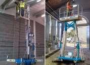 Alquiler de elevadores & plataformas articuladas compactas