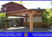 Pergolas de madera-casa en madera-decks o patios-celosias de madera-celosias en madera-tumbaco-pifo.