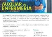 Curso de auxiliar de enfermerÍa universidad metropolitana del ecuador