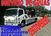 Servicio de grua , plataformas  cumbaya tumbaco ruta viva