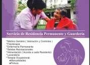 Residencia del adulto mayor, asilo  de ancianos , cuidado  del adulto  mayor