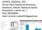 Desarrollo y venta de software empresarial, contabilidad, facturación electrónica, pto de venta,ri