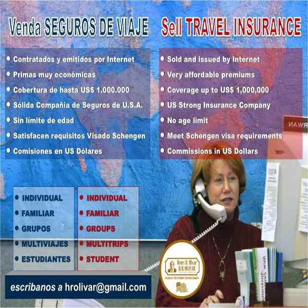 Trabaje como Agente de Seguros Medicos de Viaje
